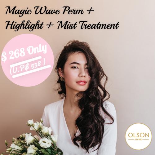 olson magic wave perm promo